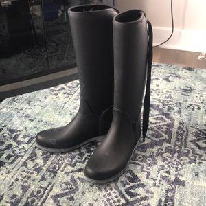 Coach Rain Boots size 8 ☔️